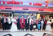 Gaziosmanpaşa'da Kırk Yıllık Çiftler Nikah Tazeledi