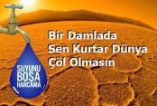Gaziosmanpaşa'da Su tasarrufunu yağmur yağarken yapalım!..