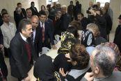 Başkan Usta'dan Pir Sultan Abdal Cemevi'ne ziyaret
