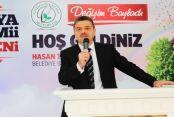 """Başkan Usta: """"Camiden istifade eden millet ve devlet yükselir"""""""