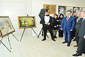 Başkan Usta resim sergisi açtı, 'Sanatı ve sanatçıyı destekliyoruz'
