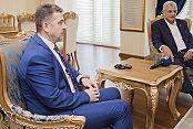 Bakan Bozkır'dan Başkan Usta'ya ziyaret