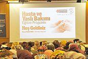 Gaziosmanpaşa'da Hasta ve Yaşlı Bakımı Eğitim Programı devam ediyor