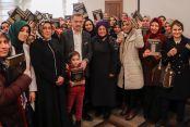 Başkan Usta Kur'an-ı Kerim'e Geçen Kadın Kursiyerlerin Heyecanına Ortak Oldu