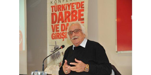 Yavuz Bahadıroğlu,Gaziosmanpaşada Gençlere Darbelerin Tarihini Anlattı