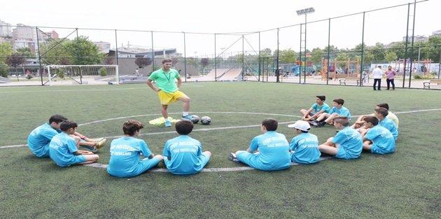 Yaz Spor Okulları'nda Tam Gaz Eğitime Devam
