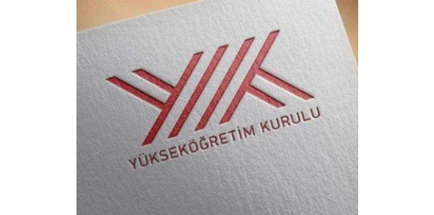 YÖK 4 üniversitenin rektörünü açığa aldı