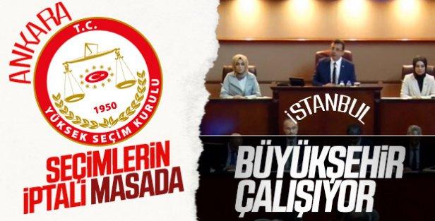 YSK İstanbul için itiraz başvurusunu değerlendiriyor