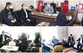 Ak Parti İlçe Başkanı Fatih Aydemir'den, şehit ailesine ziyaret