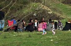 Arnavutköy'de kısıtlamada piknik yapanlara ceza