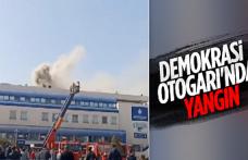 Bayrampaşa'daki 15 Temmuz Demokrasi Otogarı'nda yangın çıktı