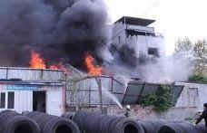 Eyüpsultan'da depo yangını