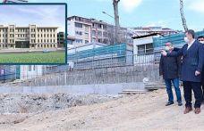 Küçükköy'de Yeni Emniyet Müdürlüğü Hizmet Binası hız Kesmeden Devam Ediyor!
