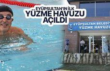 Eyüpsultan'ın İlk Yüzme Havuzu Açıldı!