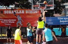 """""""Gaziosmanpaşa'da 3x3 Basketbol Turnuvası"""" Heyecana Sahne Oldu"""