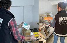 Bayrampaşa'da 2 milyon değerinde kaçak sigara ele geçirildi