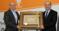 Süleyman Soylu, baba ocağı Gaziosmanpaşa'da onurun