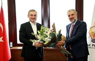 AK Parti İstanbul Teşkilatında devir teslim töreni...