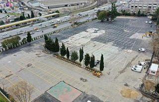 BAYRAMPAŞA'YA 500 ARAÇ KAPASİTELİ YENİ OTOPARK