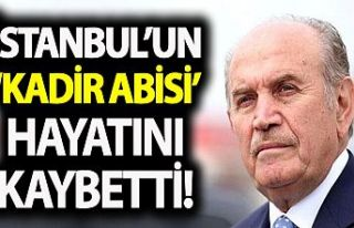 Eski İBB Başkanı Kadir Topbaş hayatını kaybetti!...
