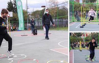Gaziosmanpaşa'da Çocuklar Spor'a Koşuyor...