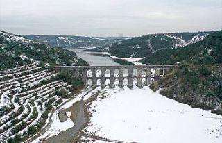 İstanbul'daki barajların doluluk oranları...
