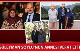 Bakan Süleyman Soylu'nun annesi yarın Gaziosmanpaşa'da...