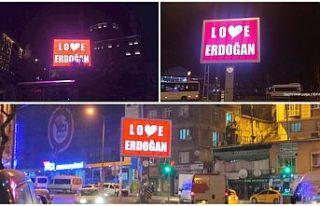 Gaziosmanpaşa Belediyesi'nden 'Stop Erdoğan'a...