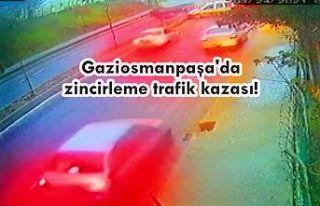 Gaziosmanpaşa'da zincirleme trafik kazası!