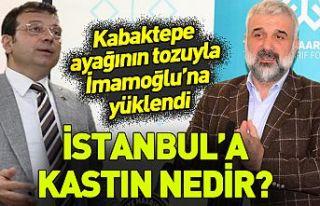Osman Nuri Kabaktepe'den Gazi yakınını tehdit...