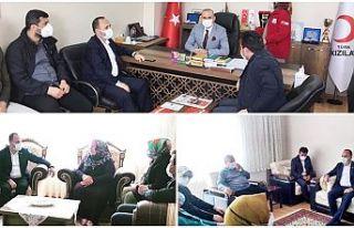 Ak Parti İlçe Başkanı Fatih Aydemir'den,...