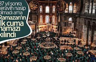 Ayasofya Camii'nde Ramazan-ı Şerif'in...