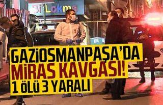 Gaziosmanpaşa'da aile üyeleri arasındaki silahlı...