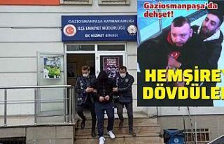 Gaziosmanpaşa'da sağlık çalışanına saldıran...