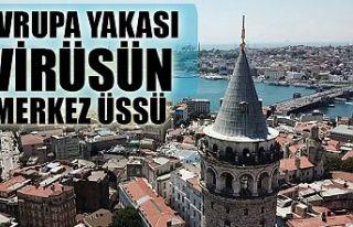 Koronavirüs yayılımı açısından İstanbul'un...