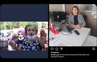 Eyüpsultan'da İmamoğlu'nu protesto eden...