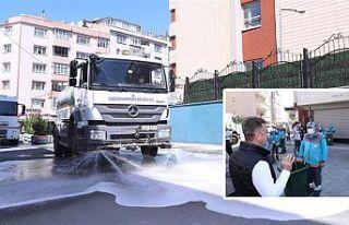 Gaziosmanpaşa'da Bayram Temizliği Başladı