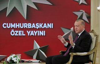 Cumhurbaşkanı Erdoğan: Müjde için cuma gününü...