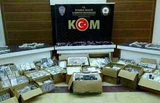 Gaziosmanpaşa ve Fatih'te 10 bin 634 kaçak...