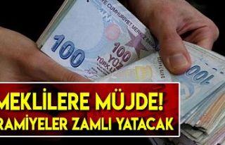 Başkan Erdoğan duyurdu! Emeklilere bayram öncesi...