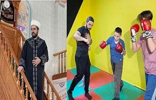 Gaziosmanpaşa'da gençler bu imama bayıldı...