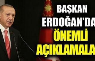 Başkan Erdoğan'dan cuma namazı sonrası önemli...