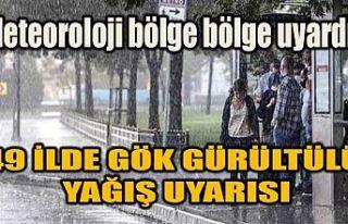 Meteoroloji bölge bölge uyardı! İstanbul dahil...