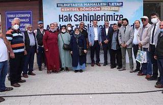 Türkiye'nin Örnek Kentsel Dönüşüm Projesinde...