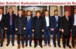 2. Bölge Belediye Başkanları Gaziosmanpaşa'da...