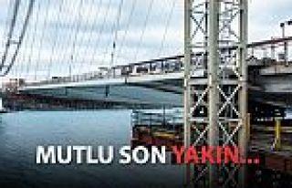3. Köprü'de son 391 metre!