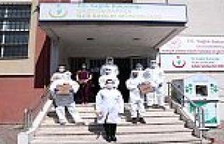 500 bin nüfuslu Gaziosmanpaşa ilçesinde Virüs...