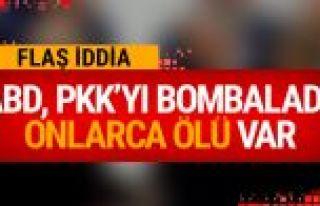 ABD'de Rakka'da PKK/PYD'yi vurdu çok sayıda ölü...