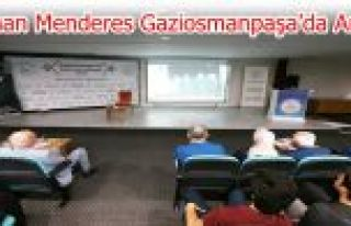 Adnan Menderes Şehadetinin 58. Yılında Gaziosmanpaşa'da...