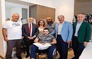 Ahmet Emre'ye anlamlı ziyaret